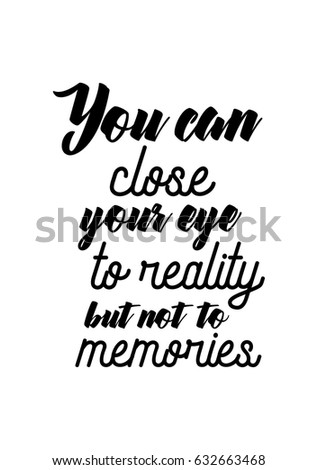 Lettering Quotes Motivation About Life Quote Stock Vector Royalty