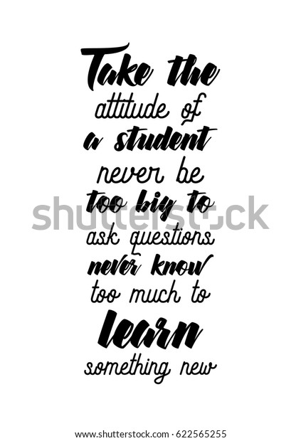 Lettering Quotes Motivation About Life Quote Stock Image ...