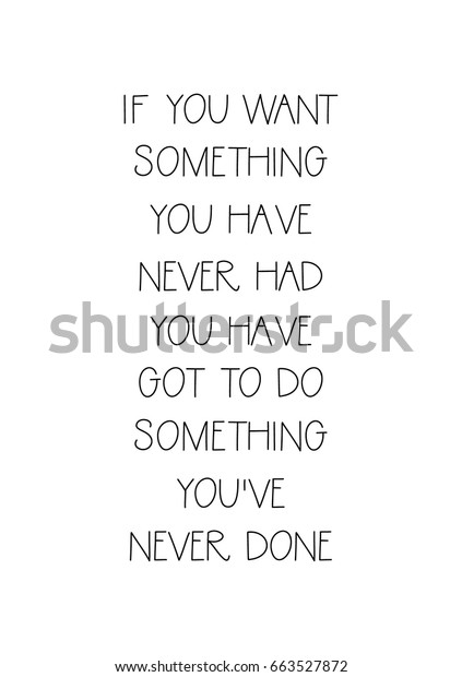 Lettering Quotes Motivation About Life Quote Stock Vector Royalty Free 663527872