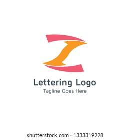 Lettering Z Vector