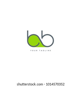 Letters B B, B & B joint logo icon vector template.