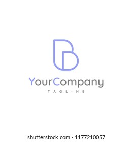 Letters BD logo