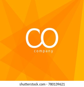 Letters C O business Logo icon template vector.
