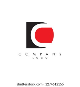 Letters dc/cd Company logo icon vector