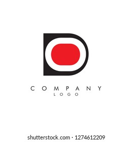 Letters do/od Company logo icon vector