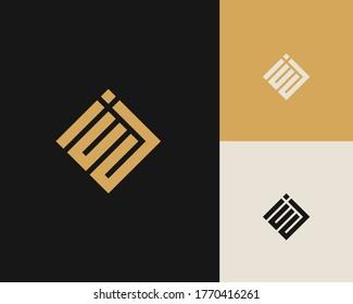 Letters E and J or EJ line logo design. Linear minimal stylish emblem. Luxury elegant vector element. Premium business logotype. Graphic alphabet symbol for corporate business identity