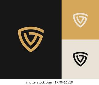 Letters G and G or GG line logo design. Linear minimal stylish emblem. Luxury elegant vector element. Premium business logotype. Graphic alphabet symbol for corporate business identity