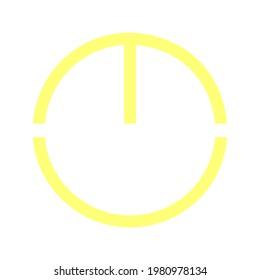 Letters M C E U Vector Button Circle