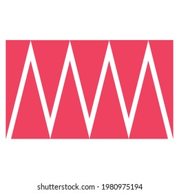 Letters MM Monogram Vector Logo