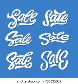 letters: SALE, sale lettering, sale word, typography, sign, logo sale, banner, eps 10