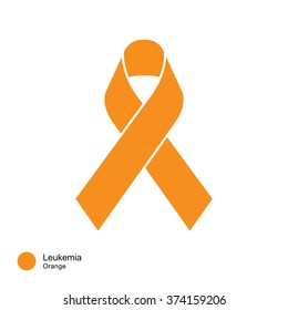 leukemia   ribbon vector