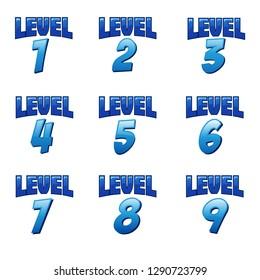 Level Up Number Set