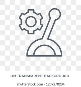 Lever icon. Lever design concept from  collection. Simple element vector illustration on transparent background.