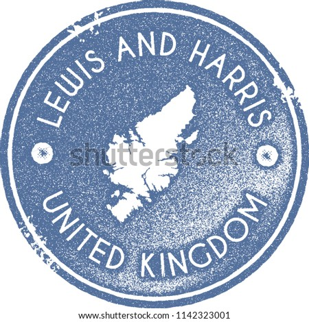 Lewis and Harris map