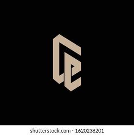 LG or GL logo design and image
