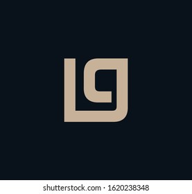 LG or GL logo designs and images