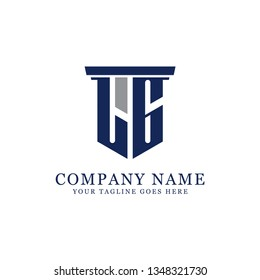 LG initial letter Vector, for accounting and finance company logo design