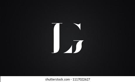 LG Letter Logo Design Template Vector