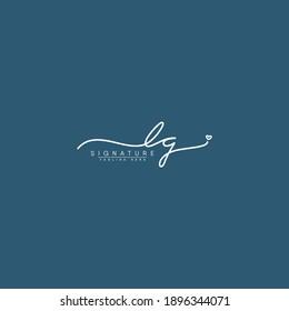 LG Signature Logo - Initial Letter Logo