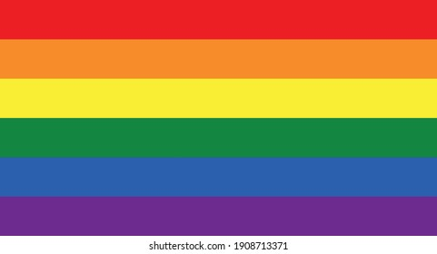 Lgbt colors. Flag with lgbt colors.