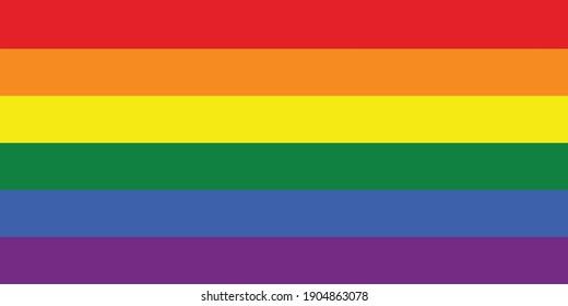 Lgbt flag national emblem graphic element Illustration template design