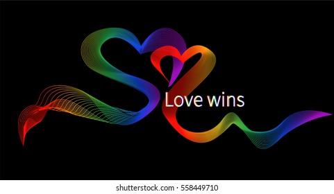 LGBT Gay Family Pride A Beautiful RibbonPride Wallpaper Background Homosexual Heart