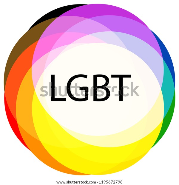 Lgbt Pride Flag New Version Add Stock Vector (Royalty Free) 1195672798