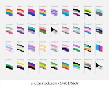 Pride Flags LGBTQIA