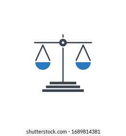 Libra related vector glyph icon. Isolated on white background. Vector illustration.