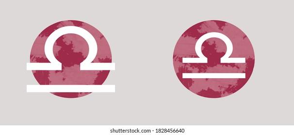 Libra Sign Zodiac - Vector