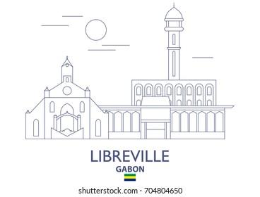 Libreville Linear City Skyline, Gabon