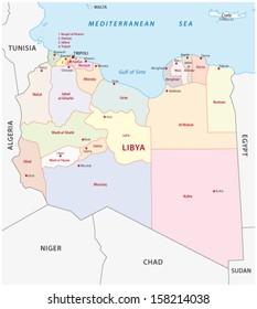 Libya Map Vector Images Stock Photos Vectors Shutterstock