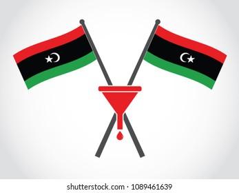 Libya Emblem Oil Consumption
