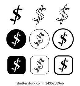 Licence and copyright commercial use icon symbol sign