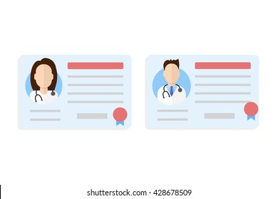 Ilustraciones Imágenes Y Vectores De Stock Sobre Medical License