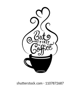 Coffee Calligraphy Stock s & Vectors