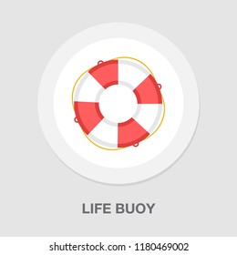 life buoy icon - safety icon - sea belt sign - help icon