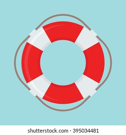 Life Buoy vector icon