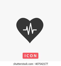 life Icon Vector. Simple flat symbol. Perfect Black pictogram illustration on white background.