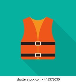 Life jacket icon - Vector