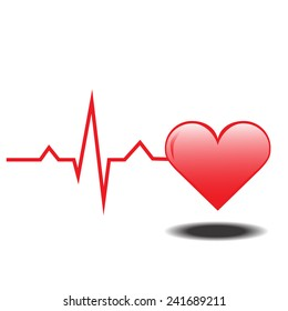 Life line. Normal Sinus Rhythm. Heart