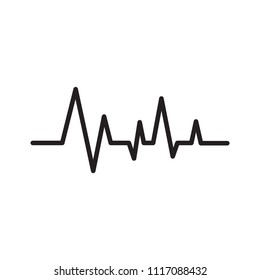 Life line vector icon