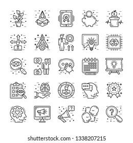 Life Skills Icons Bundle