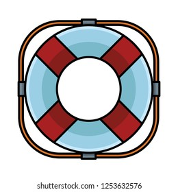lifebuoy assistance icon