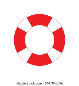lifebuoy icon. Logo element illustration. lifebuoy design. colored collection. lifebuoy concept. Can be used in web and mobile