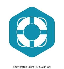 Lifeline icon. Simple illustration of lifeline vector icon for web