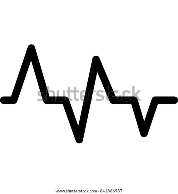 Lifeline Vector Icon Stock Vektorgrafik Lizenzfrei 641866987