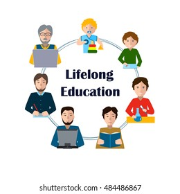 Lifelong Learning Clipart