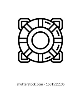 Lifesaver Icon Outline Vector. Holiday Sale Icons. Online Shop Ikon.