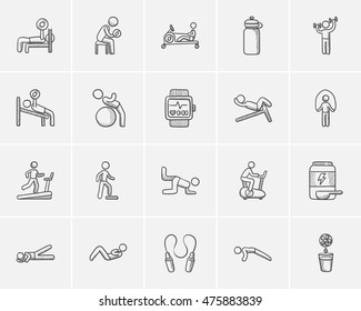 Lifestyle sketch icon set for web, mobile and infographics. Hand drawn lifestyle icon set. Lifestyle vector icon set. Lifestyle icon set isolated on white background.